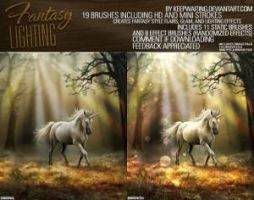 Fantasy Lighting Brushes by DonnaCuzzard