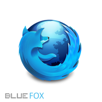 Waterfox-Blue Firefox Icon by INsAg3