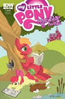 IDW MLP issue 10 cover by katiecandraw