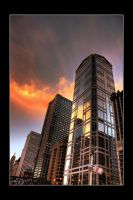 Chicago Architecture by PeppermintStripe