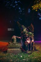 Maiev Shadowsong Cosplay - World of Warcraft by emilyrosa