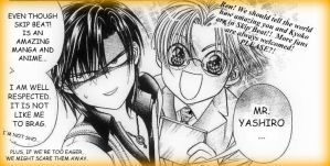 Recruiting Skip Beat Fans by darkvlinder