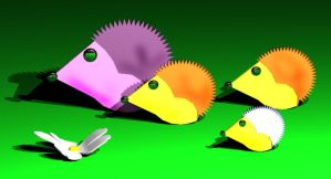 family of hedgehogs-1st draft by Freds-head