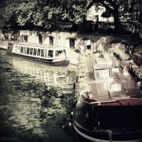 Canal Boats by lostknightkg