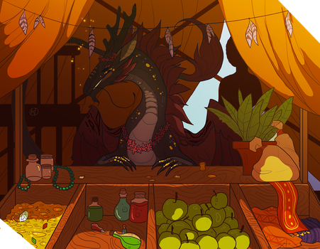 The Market by Lordfell
