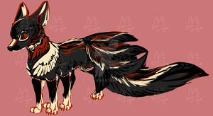 Kitsune [SOLD] by Buttwingss