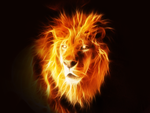 Burning Lion by sylie113