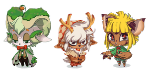 Spriggan Adoptables! by seandunkley