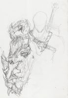 Concept: Dragon Slayer's Arm 2 by Epic-Leather