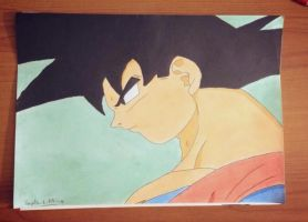goku in nameck by vegeta-x-akira