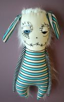 Henwig the Monster Doll by themdollz