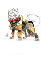 2nd form haseo wolf by Suenta-DeathGod