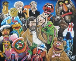 Jim Henson and Company by ZomBieTOmmm