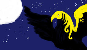 Munin at night by Tudalia222