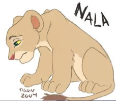 Nala - Paintchat by tigon