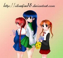 Anime_girls_Dcolored by rojeru