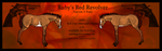 Ruby's Red Revolver by SupersonicMuffin