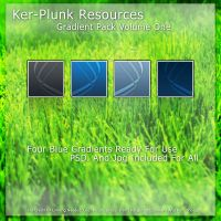 Gradient Pack Volume One: Blue by Ker-Plunk