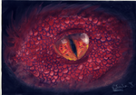 Smaug Eye by NatashaTasha