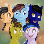 The Pegasus Posse by Chiweee