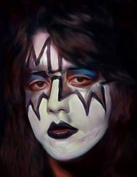 Ace Frehley the original spaceman by petnick