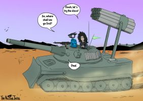 NJ and Thrasher's Tank Time (Part 2) by NuclearJackal