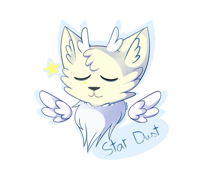 Commission - Star Dust badge by KumaExposed