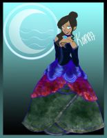 .-`~ Korra - A Quick Greeting ~`-. by Faustisse