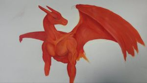 Wip Charizard by ShikiCreations