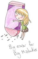 Big Eraser by marlipri