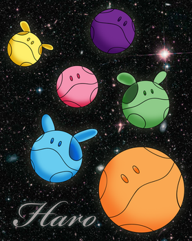 HARO IN SPACE by LaFlavaFlav