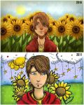 Before and After Meme (5 year difference) by SatiricalKat
