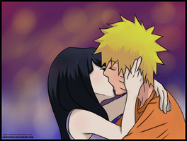 NaruHina_Colored by DoctorMLoli