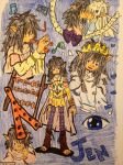 The Dark Crystal  Jen by GhibliLover92