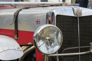 MG sports car close up by Sceptre63