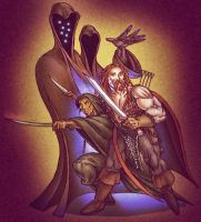 Fafhrd and the Gray Mouser by eggwhip