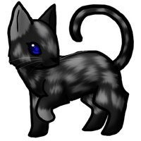 Chibi cat commission by DragonwolfRooke