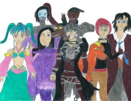 Me and My OC's by Sharidaken