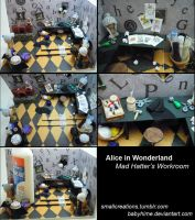 Mad Hatter's Workroom (FINISHED) 2 by SmallCreationsByMel