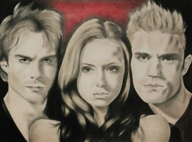 The Vampire Diaries by LianneC