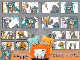 Collage Especial Halloween. by TsunxDere0018