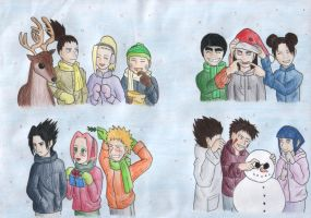 Christmas in Konoha by Huudel