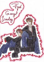 Weasley Twins by Order-of-the-Phoenix
