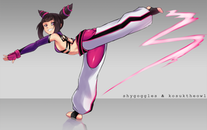 Juri Han - Collab by shyGoggles