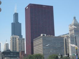 Chicago Skyline by lee-mare