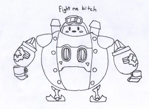 Kirby: Planet Robobot by SmoopyDoople