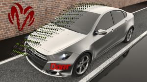2013 Dodge Dart by SamCurry