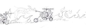 post apocalyptic chase by savagehenry89