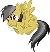 Commission - Daring Do Scared by RAGErER