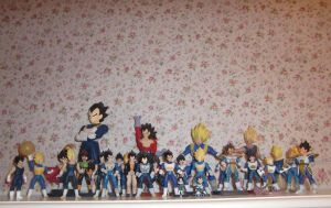 All of my Vegeta XD by Lady-Shaina